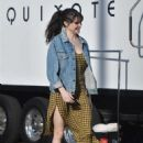 Shailene Woodley – Films an untitled Drake Doremus project in Los Angeles