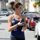 Ashley Greene - Leaving Gym In Studio City 29/09/10