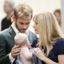 Emilie De Ravin is Claire and Dominic Monaghan is Charlie on Lost. - 400 x 269