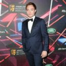 Actor Ed Westwick attends the 2015 Jaguar Land Rover British Academy Britannia Awards at The Beverly Hilton Hotel on October 30, 2015 in Beverly Hills, California - 400 x 600