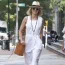 Naomi Watts in White Dress – Out in Tribeca