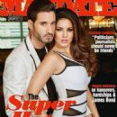 Daniel Weber, Sunny Leone - Mandate Magazine Cover [India] (January 2015)