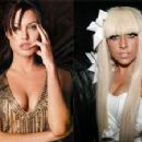 Angelina Jolie and Lady Gaga