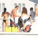 Cindy Crawford - Bikini Candids In St. Tropez - 2008-08-02