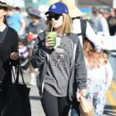 Genevieve Hannelius at Farmers Market in Studio City - 454 x 800