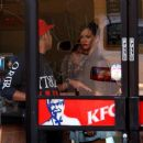 Rihanna - at a KFC in LA - September 27 2008