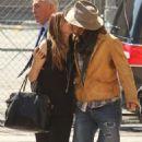 Johnny Depp and Robin Baum
