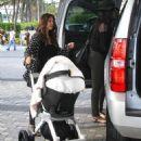 Kourtney Kardashian: on the streets of NYC