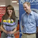The Duke & Duchess of Cambridge Mark World Mental Health Day (October 10, 2015 )