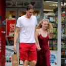 Dakota Fanning with Henry Frye – Out in NYC