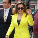 Alyssa Milano at Good Morning America in New York - 454 x 681