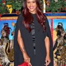 Eve at the Claridge's Christmas tree unveiling in London
