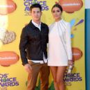 Olivia Culpo and Nick Jonas- Nickelodeon's 28th Annual Kids' Choice Awards - Arrivals