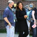Mariska Hargitay – Law and Order TV Show filming in the Bronx – New York