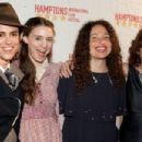 2009, October 9th - Director Francesca Gregorini, actress Rooney Mara, director Tatiana von Furstenberg and casting director Lina Todd arrive at the Breakthrough Performers reception as part of the 17th annual Hamptons International Film Festival at the G - 454 x 303