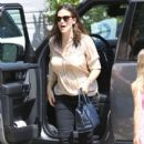 Jennifer Garner: at a friends daughter's birthday party in Brentwood
