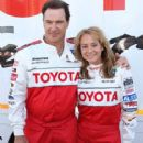 Patrick Warburton & Megyn Price - 2010 Toyota Pro Celebrity Race Press Practice