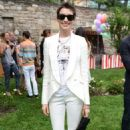 Anne Hathaway at the Stella McCartney Spring 2012 Presentation in New York City - June 11, 2012