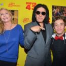 "Gene Simmons and wife Shannon Tweed attend Relatively Media's ""Movie 43"" Los Angeles premiere on January 23rd 2013"