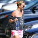 Britney Spears Leaving The Gym In Thousand Oaks