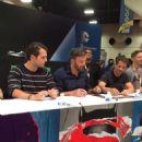 Autograph session for Batman V Superman cast at San Diego Comic-Con 2015