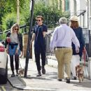 Saoirse Ronan and Jack Lowden – Out for a stroll and breakfast in London - 454 x 349