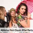 Nina Dobrev – Athletes First Classic After Party Photosooth (March 2017)