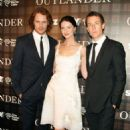 Sam Heughan, Caitriona Balfe and Tobias Menzies - 'OUTLANDER' SCREENING IN NYC (July 28, 2014)