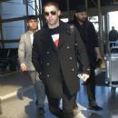 Nick Jonas is spotted departing from LAX in Los Angeles, California on February 28, 2017