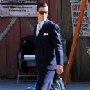 Matt Bomer- February 11, 2016-on the Set of 'The Last Tycoon - 388 x 600