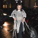 Bella Hadid – Arriving at Hotel Costes in Paris