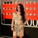 Jenelle Evans attends the 2015 MTV Video Music Awards at Microsoft Theater on August 30, 2015 in Los Angeles, California - 399 x 600