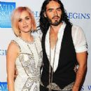 "Katy Perry & Russell Step Out for ""Change Begins Within"""