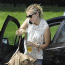 Kristen Bell At Pacific Design Center In West Hollywood