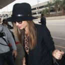 Miranda Kerr departing on a flight at LAX airport in Los Angeles, California on December 4, 2012