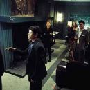 Geoffrey Rush, Chris Kattan, Ali Larter, Bridgette Wilson, Peter Gallagher and Taye Diggs in Warner Brothers' House On Haunted Hill - 10/99 - 350 x 231
