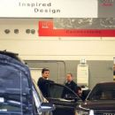 Orlando Bloom brought his Audi into the dealership in LA February 17,2011 to have his broken mirror fixed.