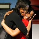 Michelle Obama Visits DC-Area School As Part Of Women's History Month
