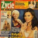 Edyta Górniak - Zycie na goraco Magazine Cover [Poland] (20 February 2006)