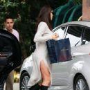 Pregnant Irina Shayk Heads To Her Hotel In Beverly Hills
