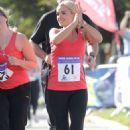 Katherine Jenkins - Admiral Swansea Bay 10k Run, South Wales - 27.09.2010