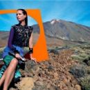 Christy Turlington for Missoni Spring/Summer 2014 Ad Campaign