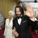 Keanu Reeves and his mother Patricia Taylor At The 92nd Annual Academy Awards - Arrivals