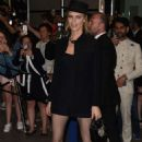 Eva Herzigova – Arriving for the Dior Dinner in Cannes