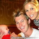 Elizabeth Kemp and Brett Lee