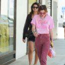 Bella Thorne in Red Pants – Out in Los Angeles