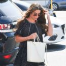 Lea Michele in Mini Dress – Out in West Hollywood
