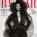 Iman - Harper's Bazaar Magazine Cover [United Kingdom] (February 2021)