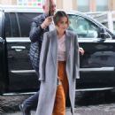 Emilia Clarke – Arriving at SiriusXM Studios in New York