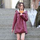 Selena Gomez – Woody Allen Set movie in NYC - 454 x 709